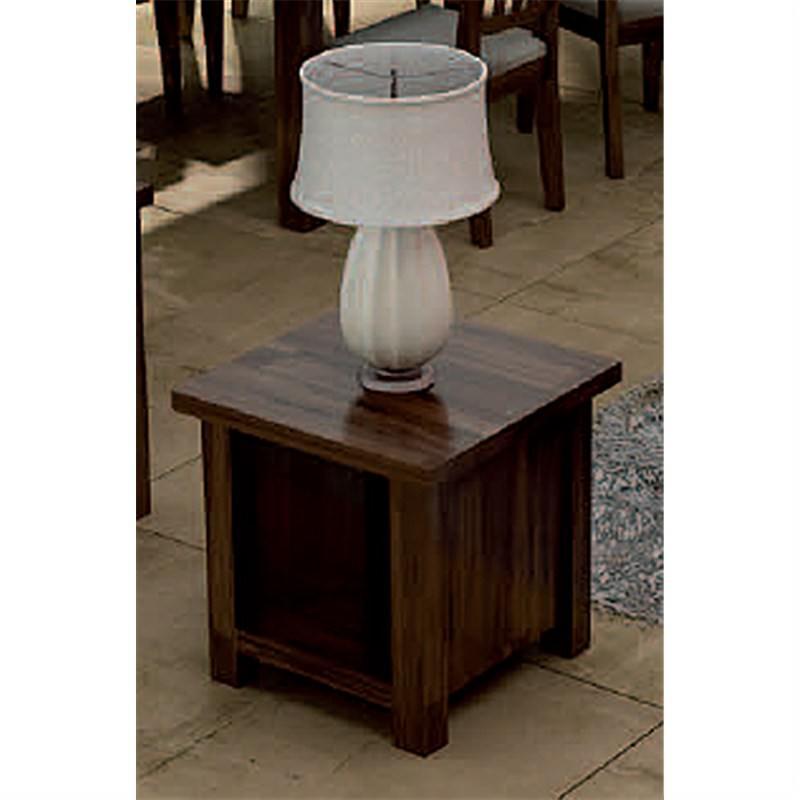High Country Acacia Lamp Table