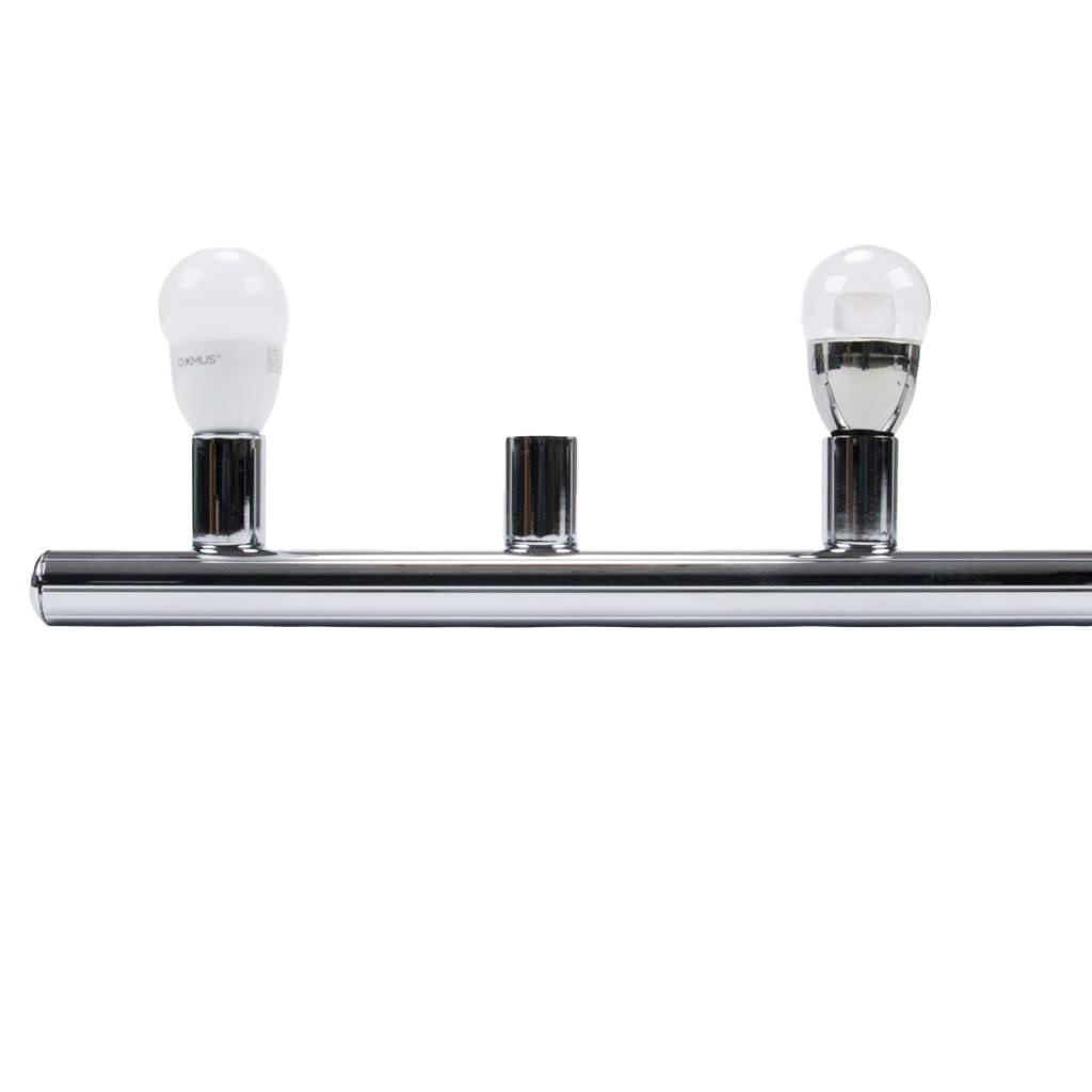 HL-804 Hollywood Vanity Light, 4 Light, Chrome