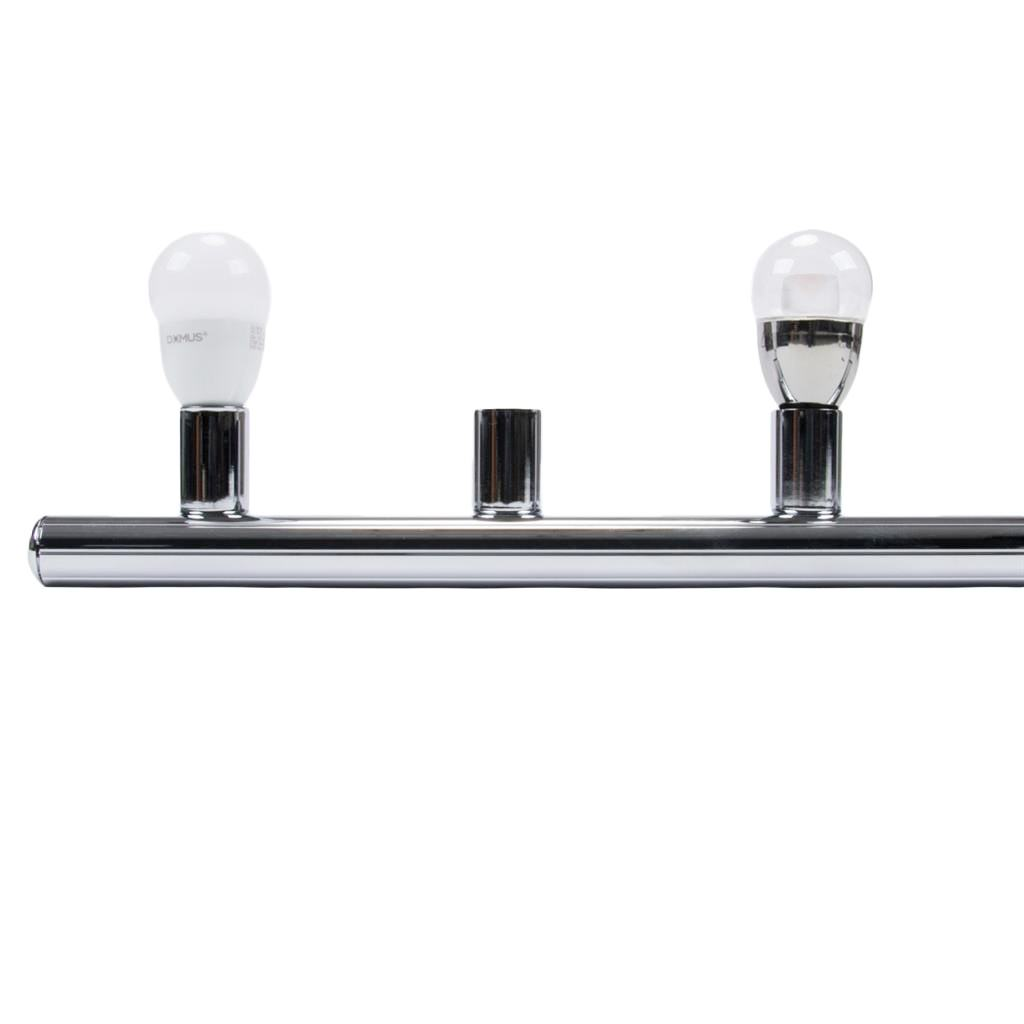 HL-804 Hollywood Vanity Light, 7 Light, Chrome