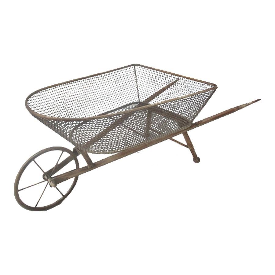 Morillon Metal Decorative Garden Wheelbarrow