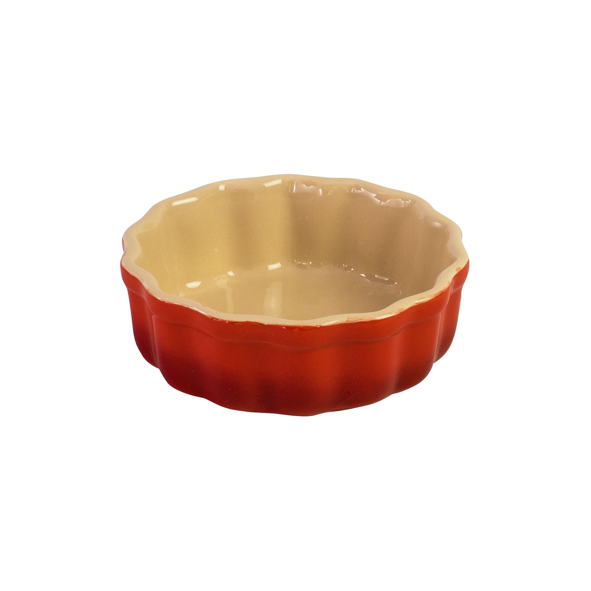 Chasseur La Cuisson 12cm Round Flan Dish - Red