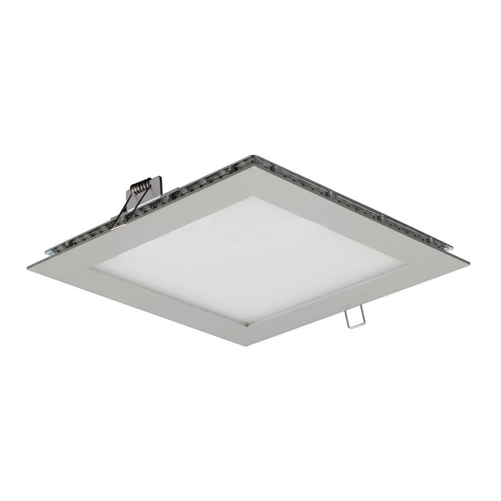 Maverick IP44 Commercial Grade Recessed LED Panel Light, 20x20cm, 6000K