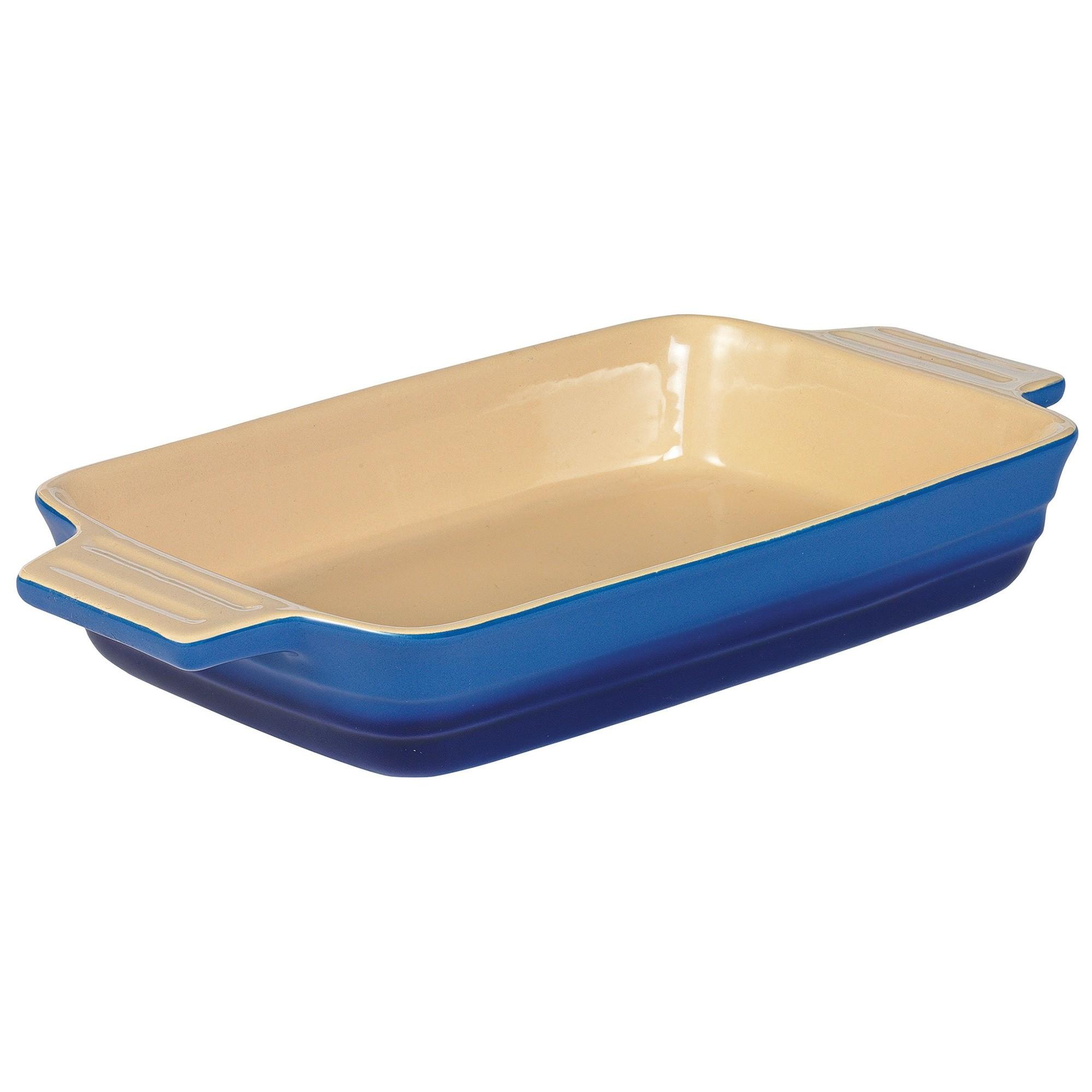 Chasseur La Cuisson 34x24cm Rectangular Baking Dish - Blue