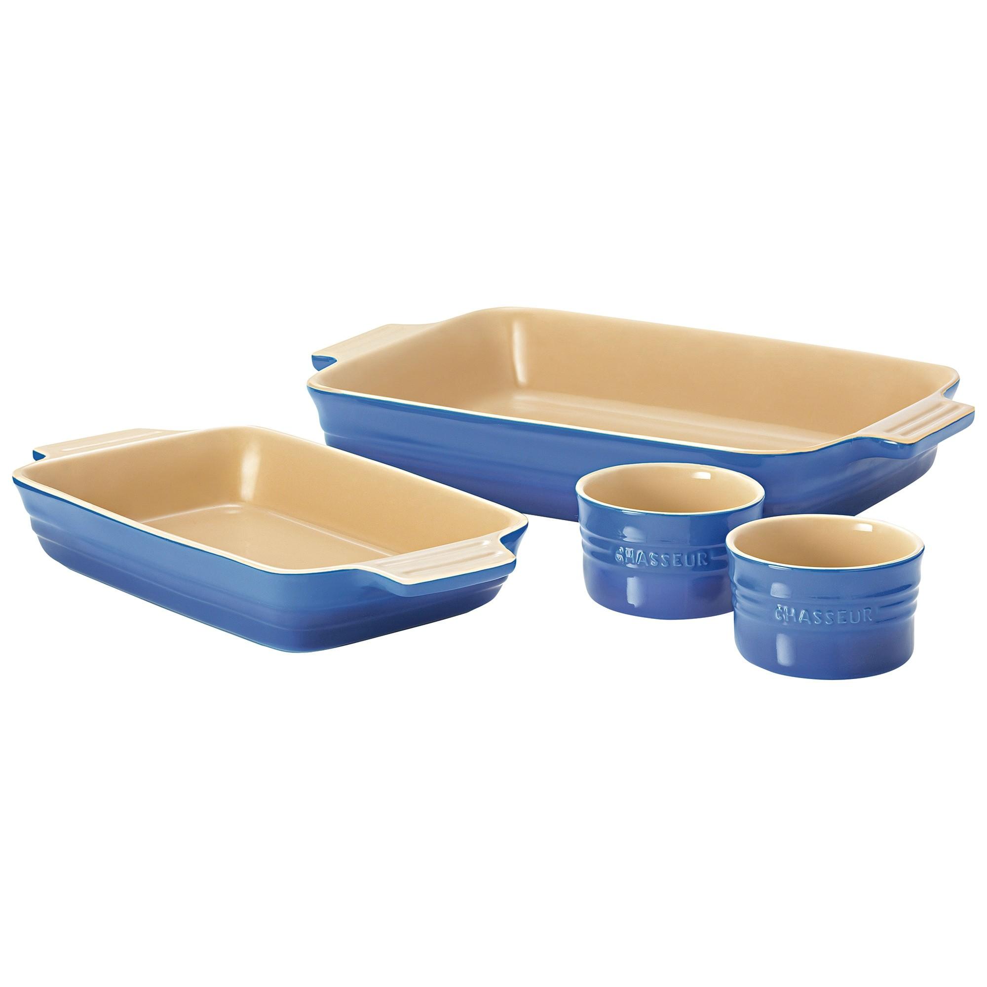Chasseur La Cuisson 4 Piece Baking Set - Blue
