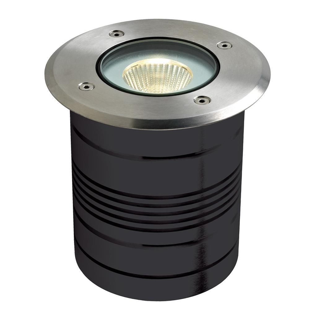 Modula IP65 Exterior LED Inground Light, 3000K, Round