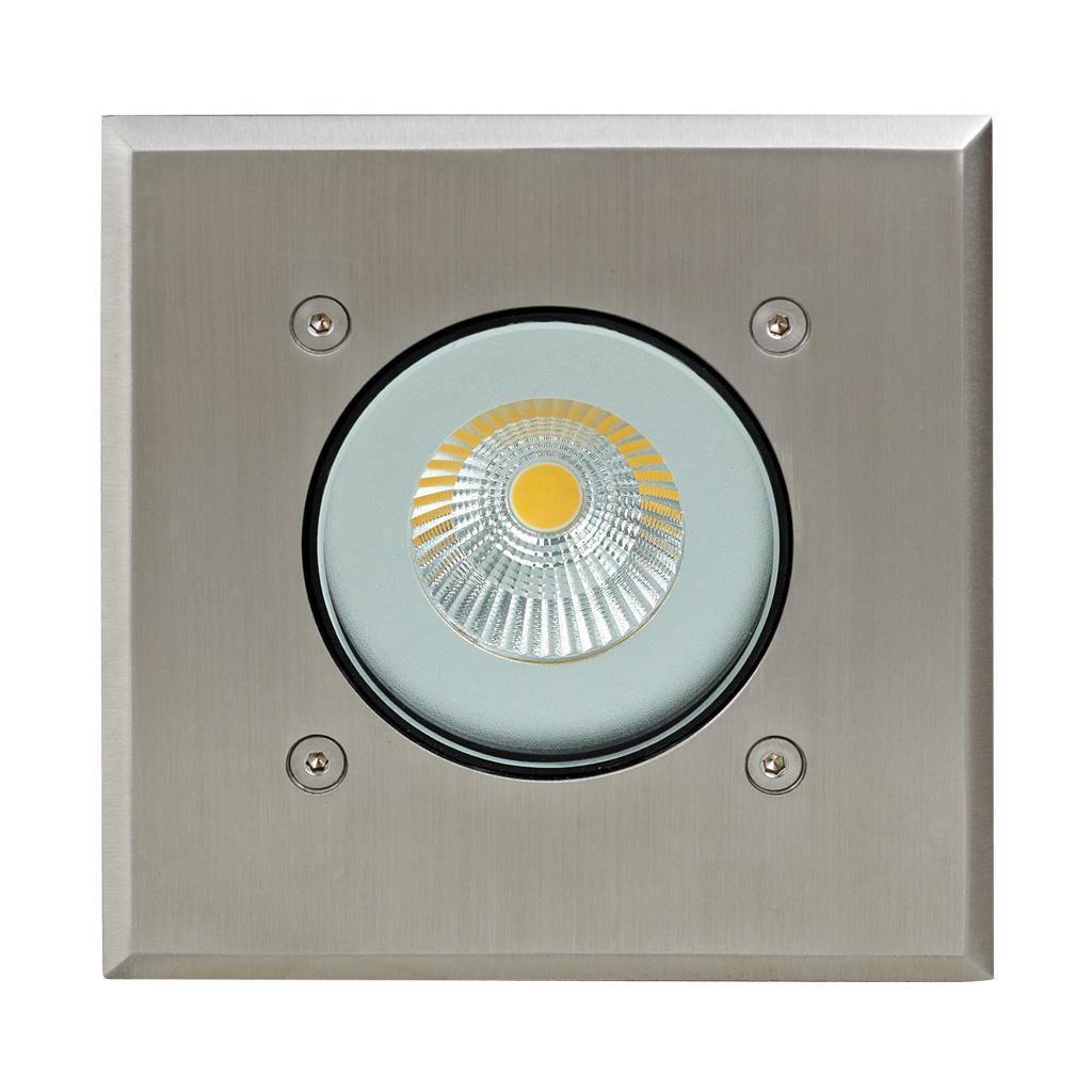 Modula IP65 Exterior LED Inground Light, 5000K, Square