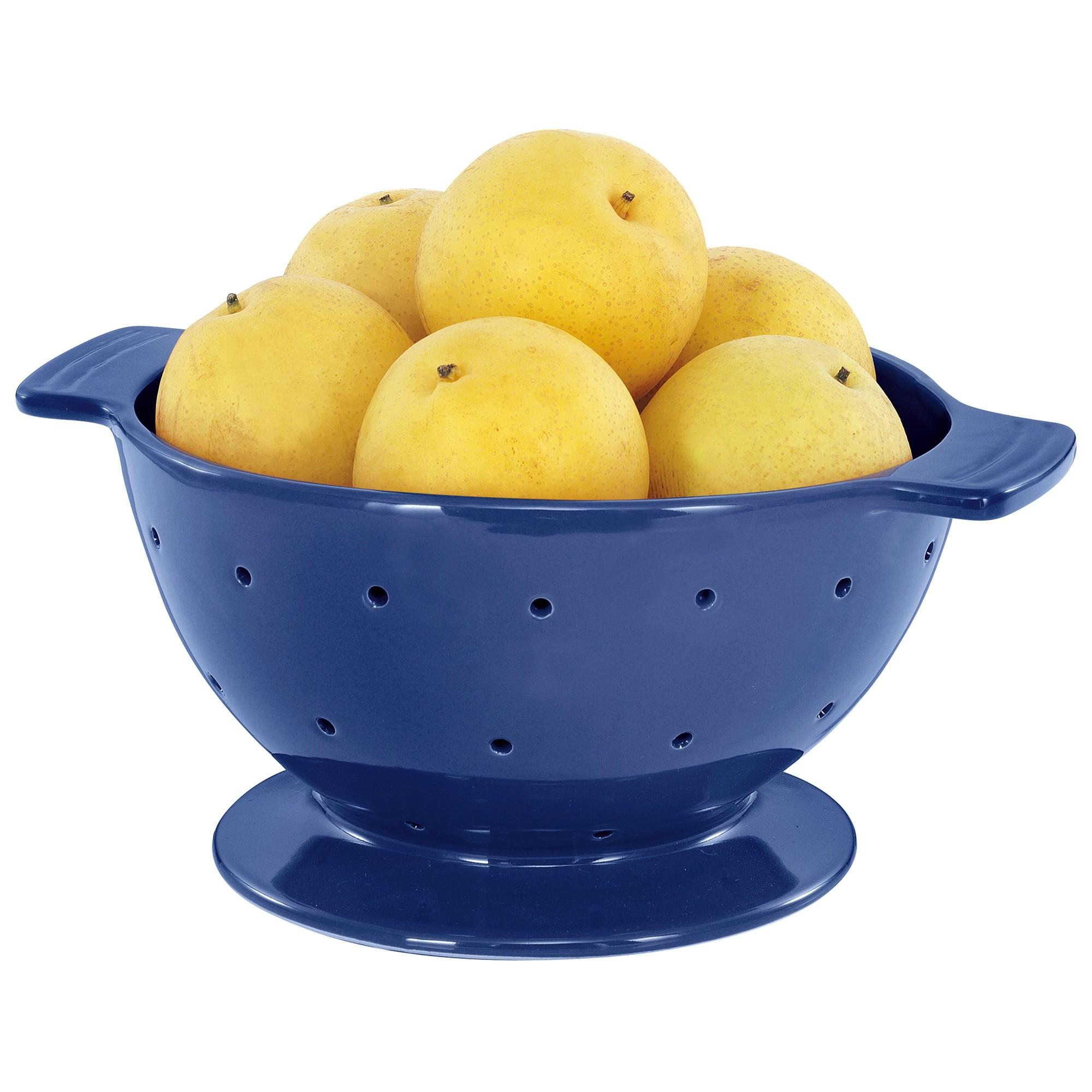 Chasseur La Cuisson Colander / Fruit Bowl - Blue