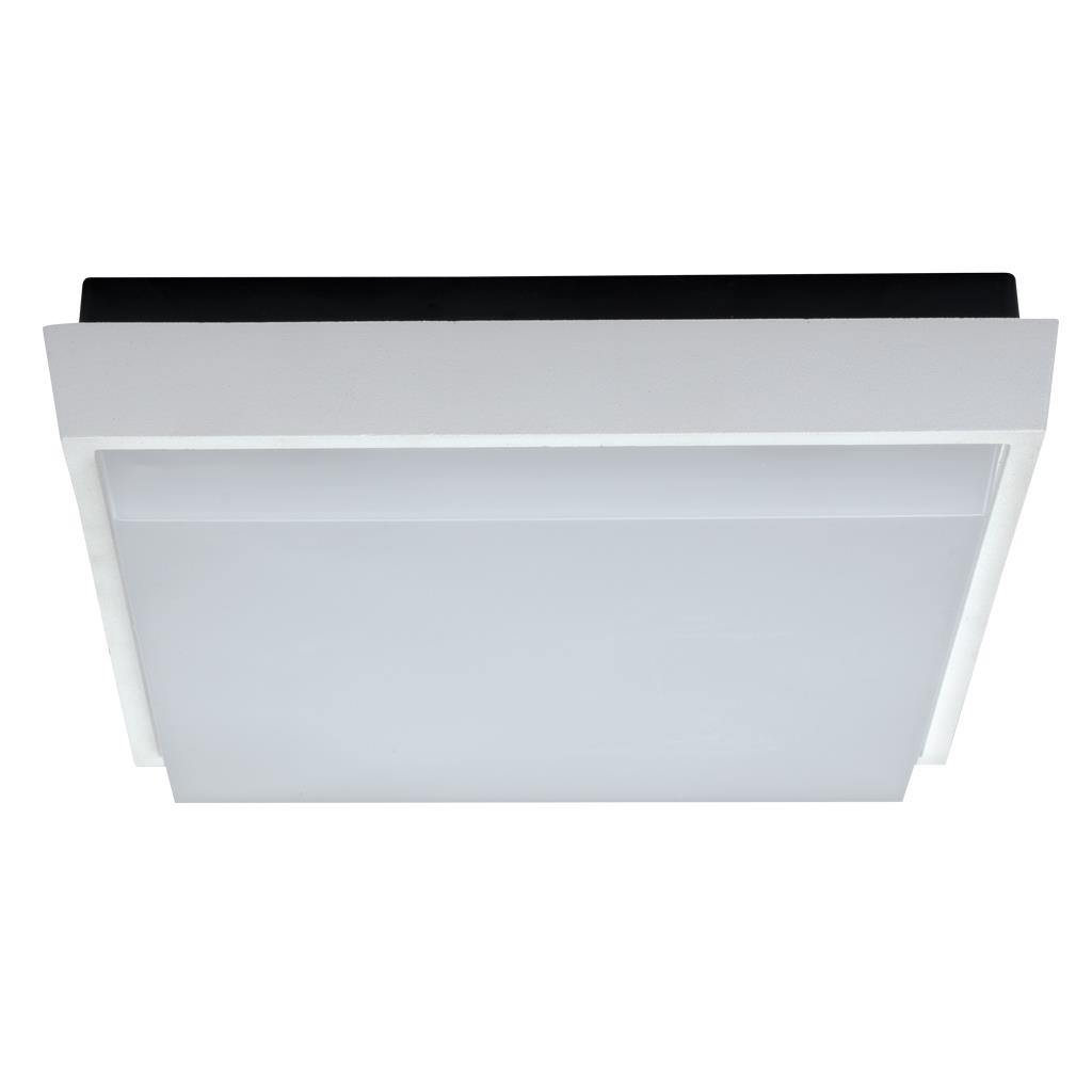 TAB IP54 Indoor / Outdoor LED Oyster Light, 5000K, 24cm, White