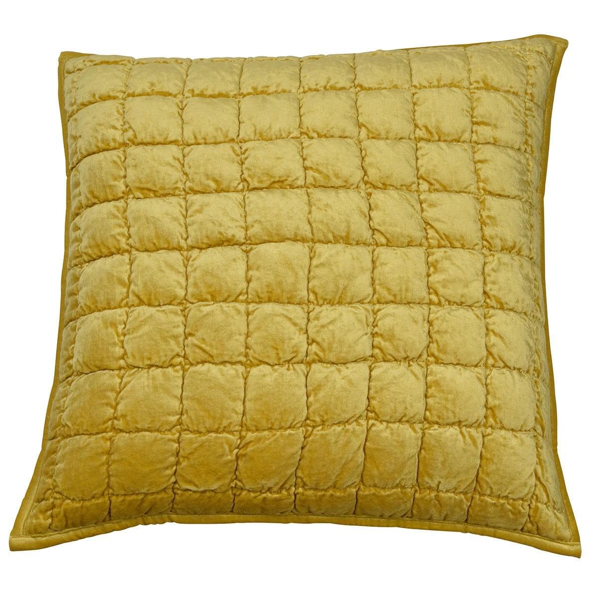 Audrey Velvet Scatter Cushion Cover, Gold