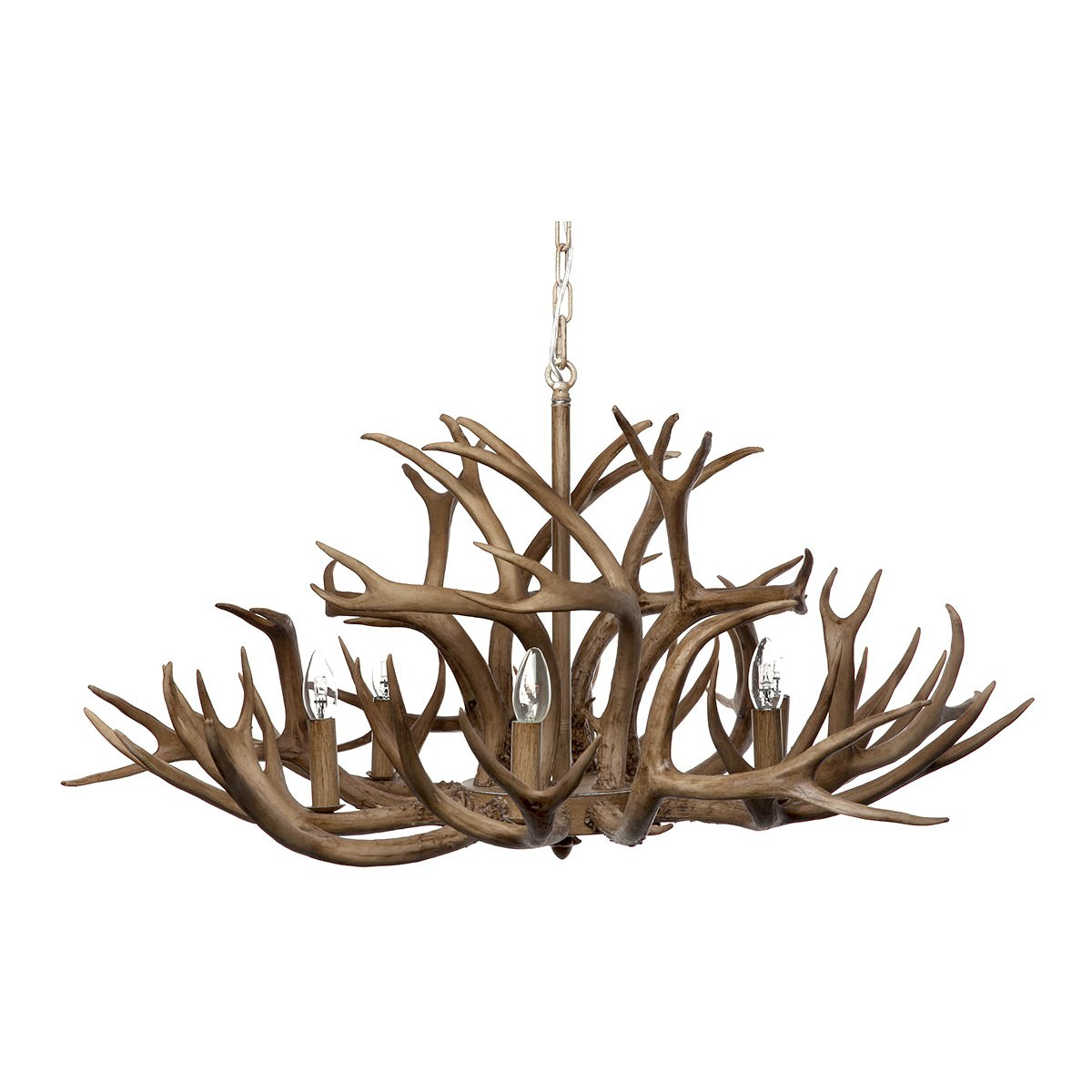 Image of: Aspen Antler Chandelier 8 Arm