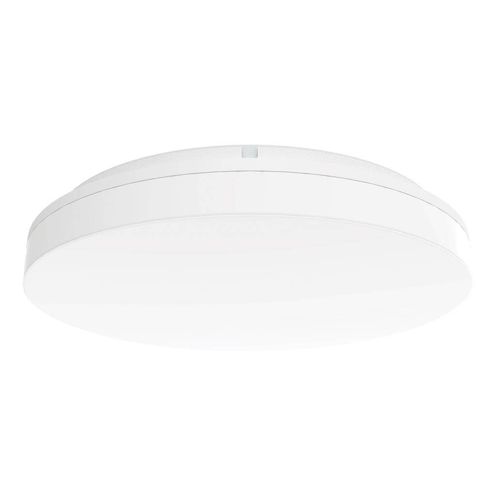 Sunset IP54 Indoor / Outdoor Tricolour Switchable LED Oyster Light, Round, 40cm