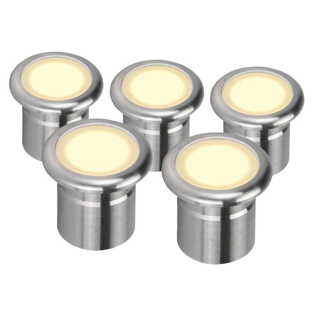 Vivid IP67 LED Deck Light 5 Pack Kit, 3000K