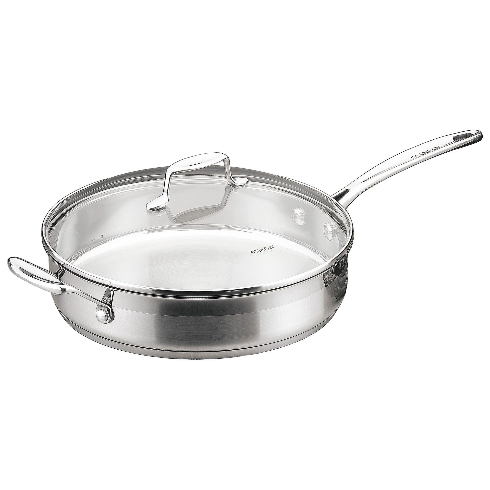 Scanpan Impact 28cm Saute Pan with Lid