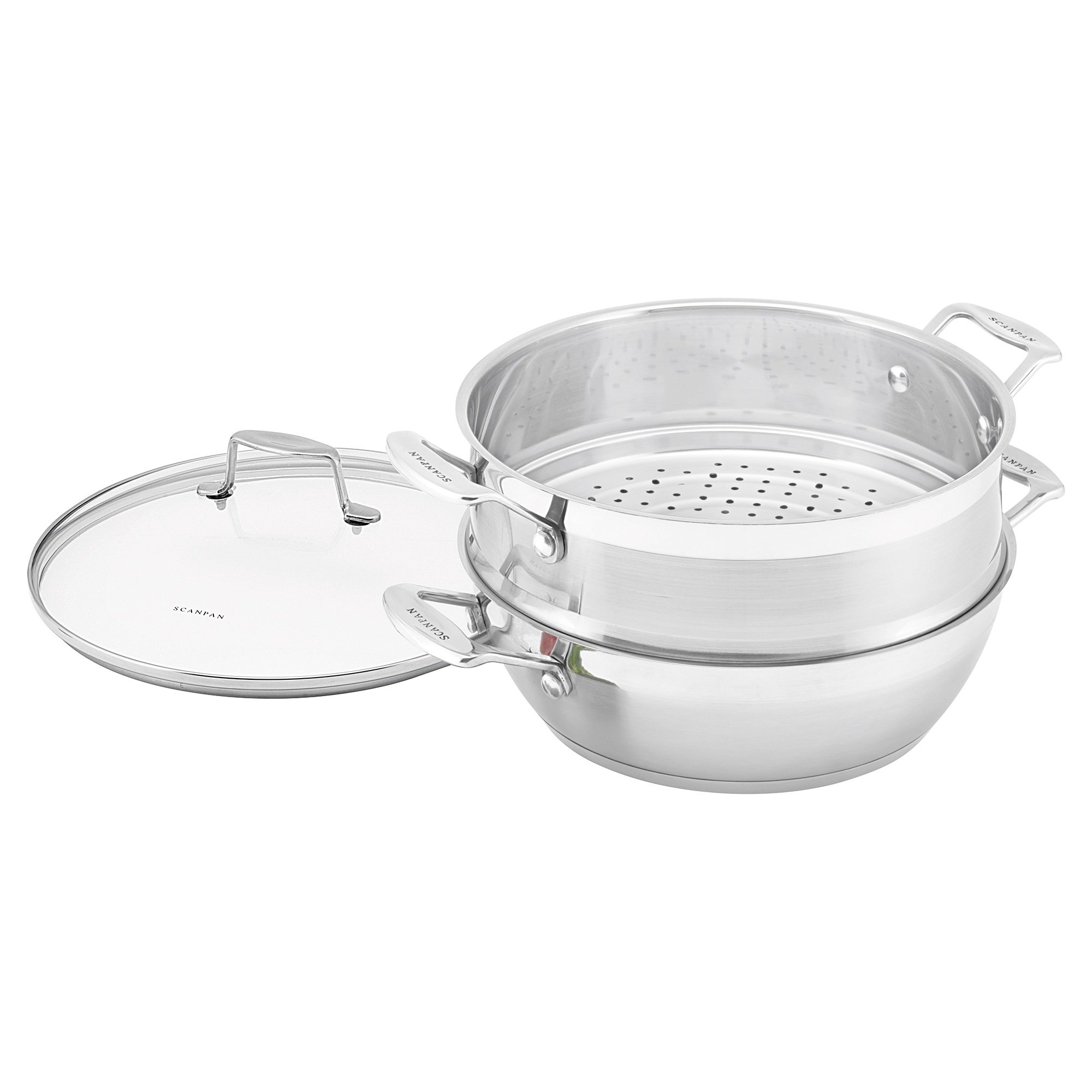 Scanpan Impact 28cm Multi-Purpose Pan with Lid
