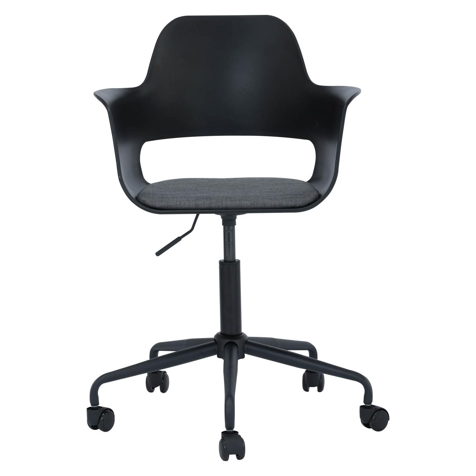 Laxmi Commercial Grade Swivel Office Chair, Black