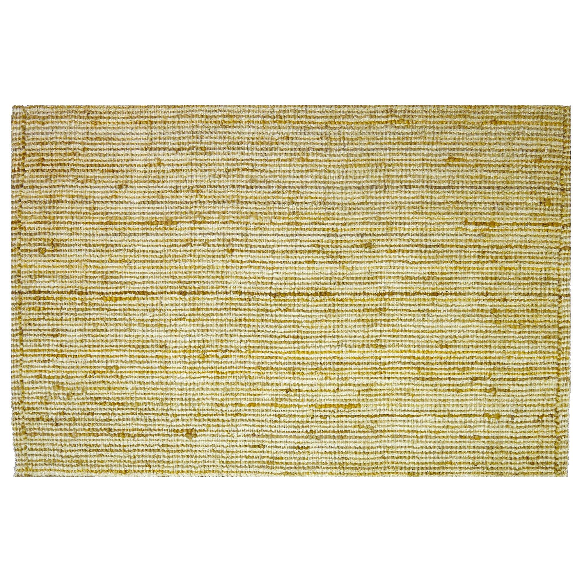 Bouclay Handspun Jute Rug, 220x150cm, Natural / Gold