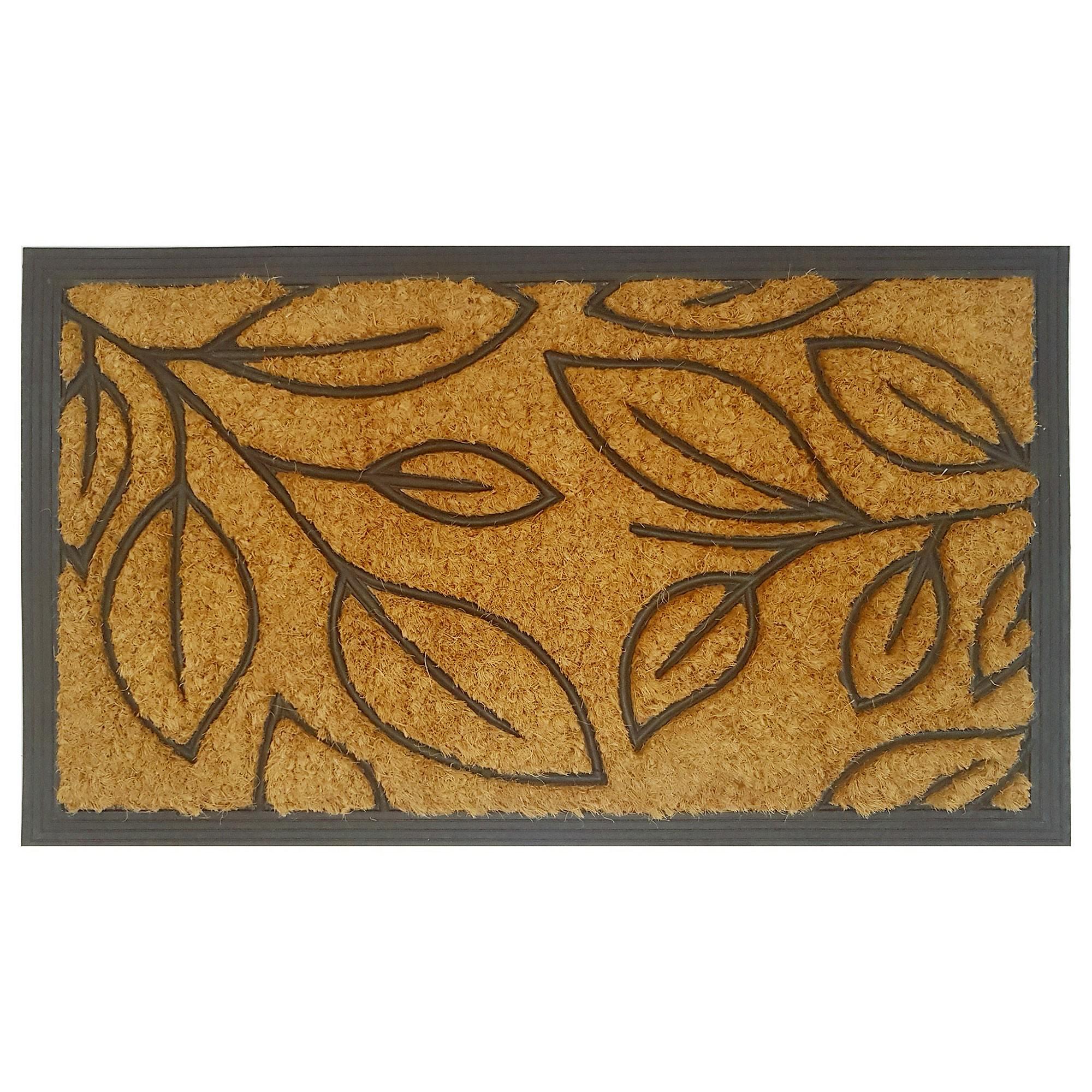 Bolsena Coir & Rubber Doormat, 70x40cm