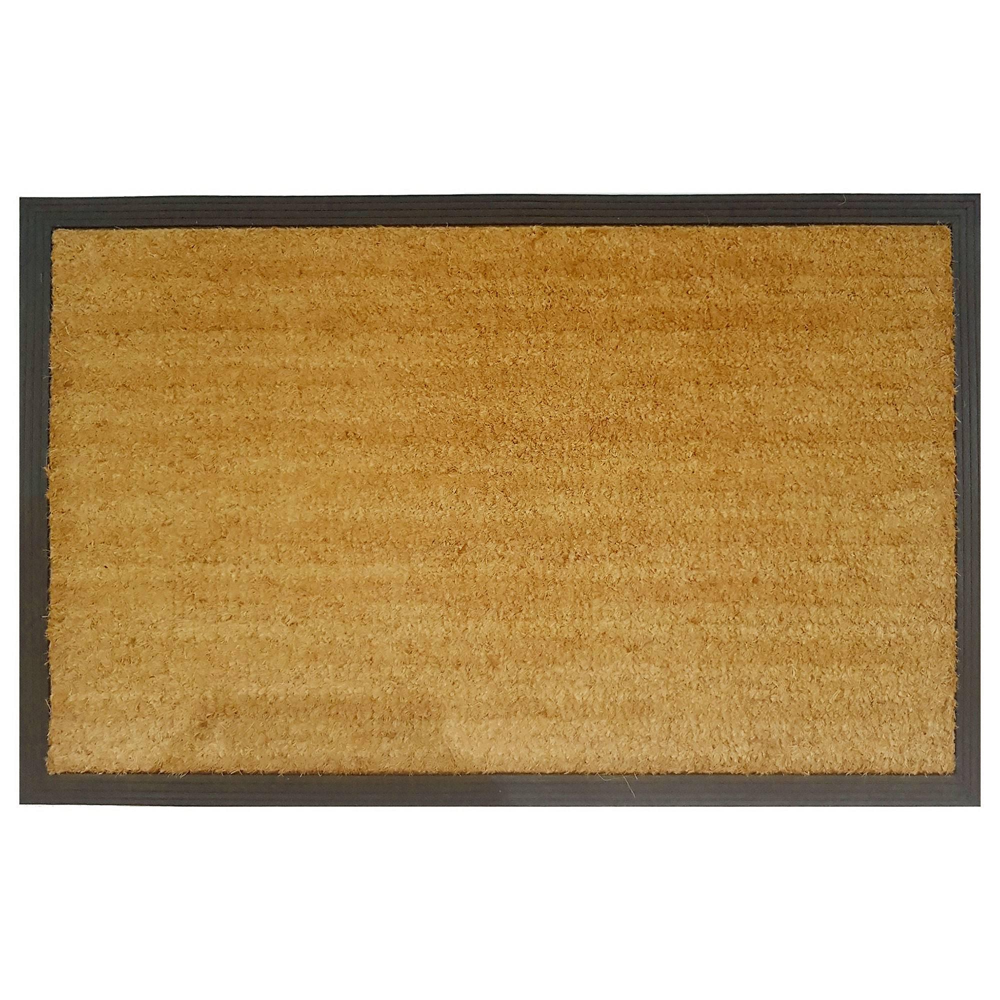 Barber Rubber Edged Coir Doormat, 95x60cm