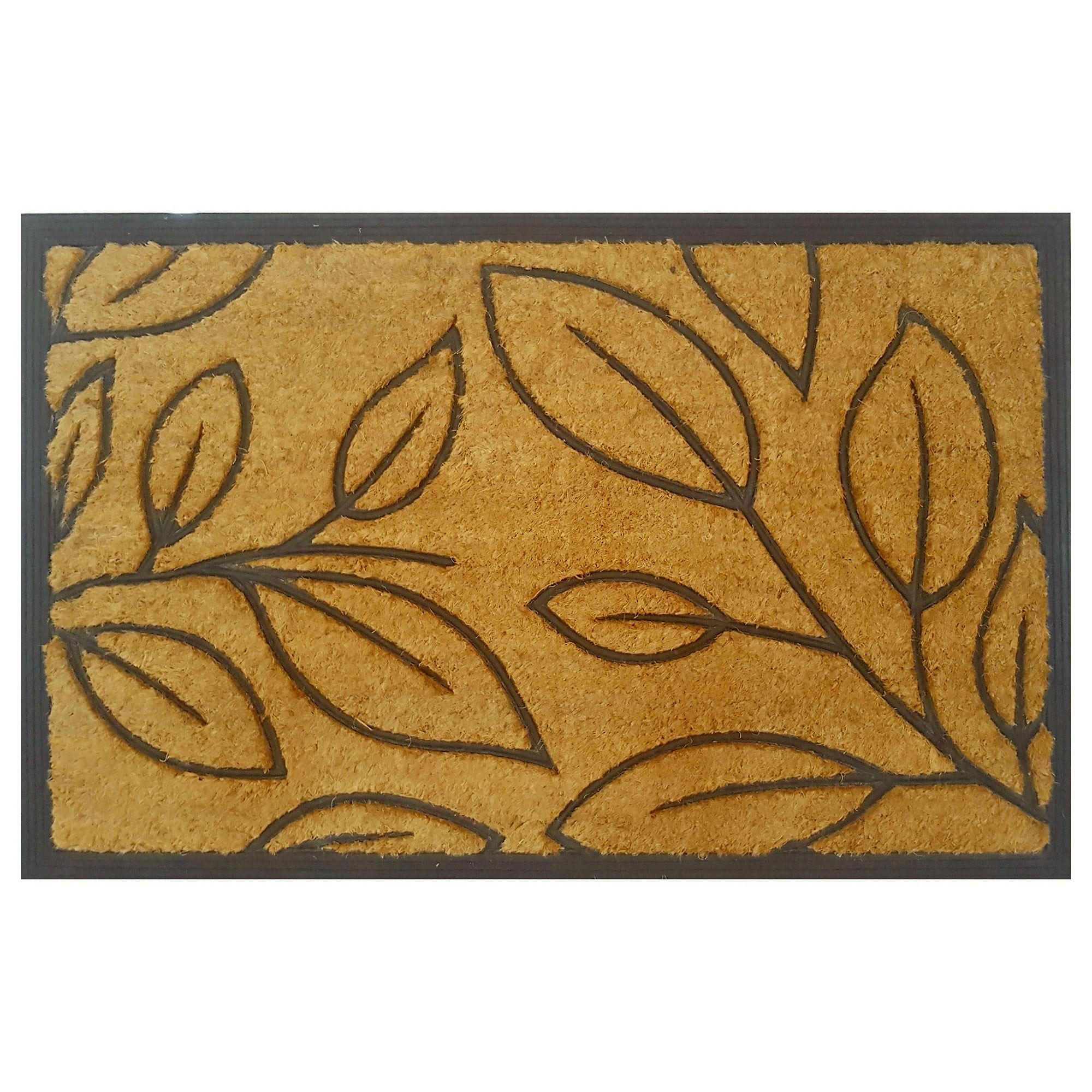 Bolsena Coir & Rubber Doormat, 95x60cm
