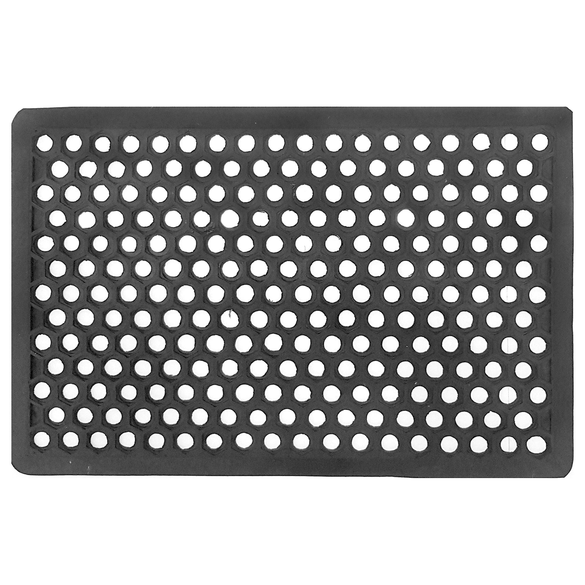 Honeycomb Hollow Rubber Doormat, 70x40cm