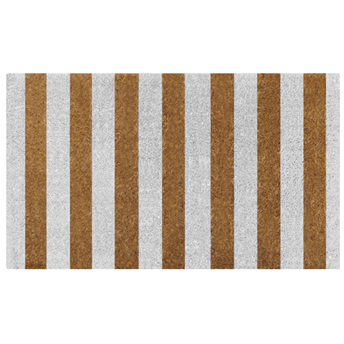 Jesmond Coir Doormat, 80x50cm, Natural