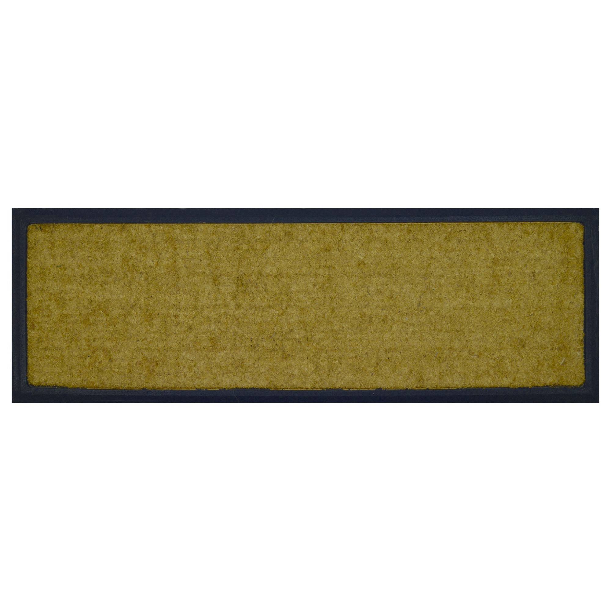 Barber Rubber Edged Coir Doormat, 120x40cm