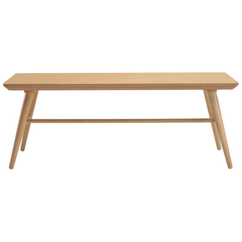Marrim Wooden Bench, 120cm, Natural