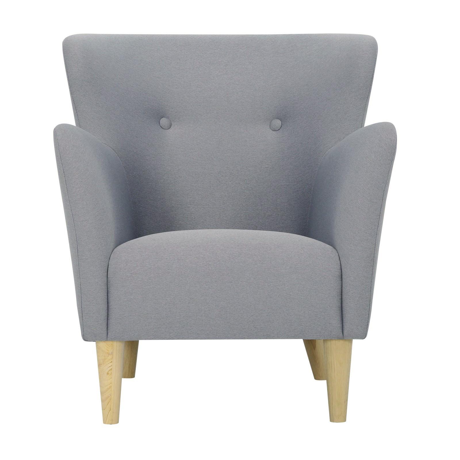 Cruiser Commercial Grade Fabric Armchair, Platinum