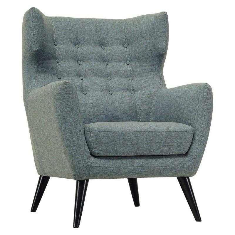 Kanion Commercial Grade Fabric Armchair, Whale