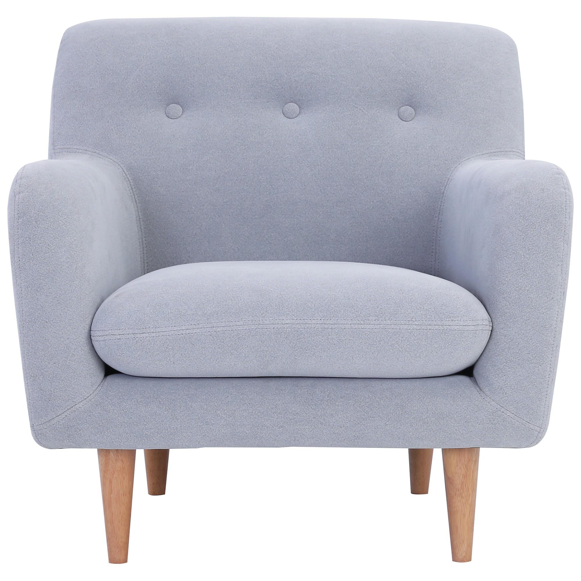 Sportage Fabric Armchair, Smoke