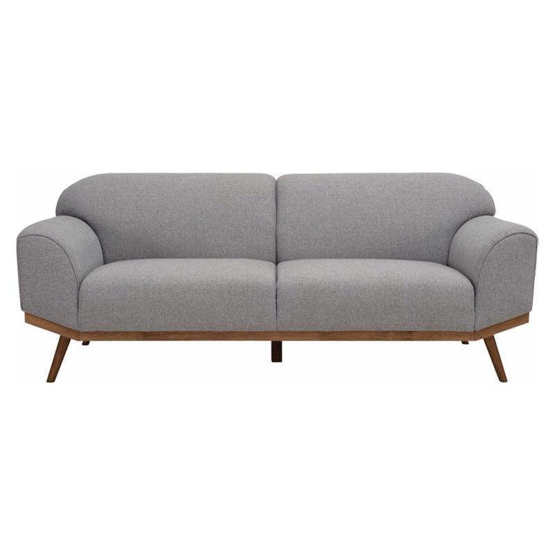 Volt Fabric Sofa, 3 Seater, Grey