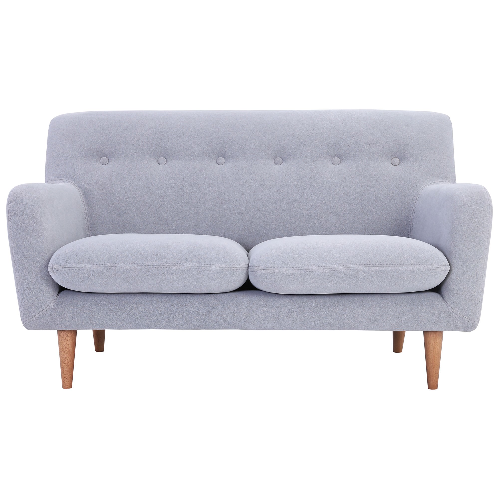 Sportage Fabric Sofa, 2 Seater, Smoke