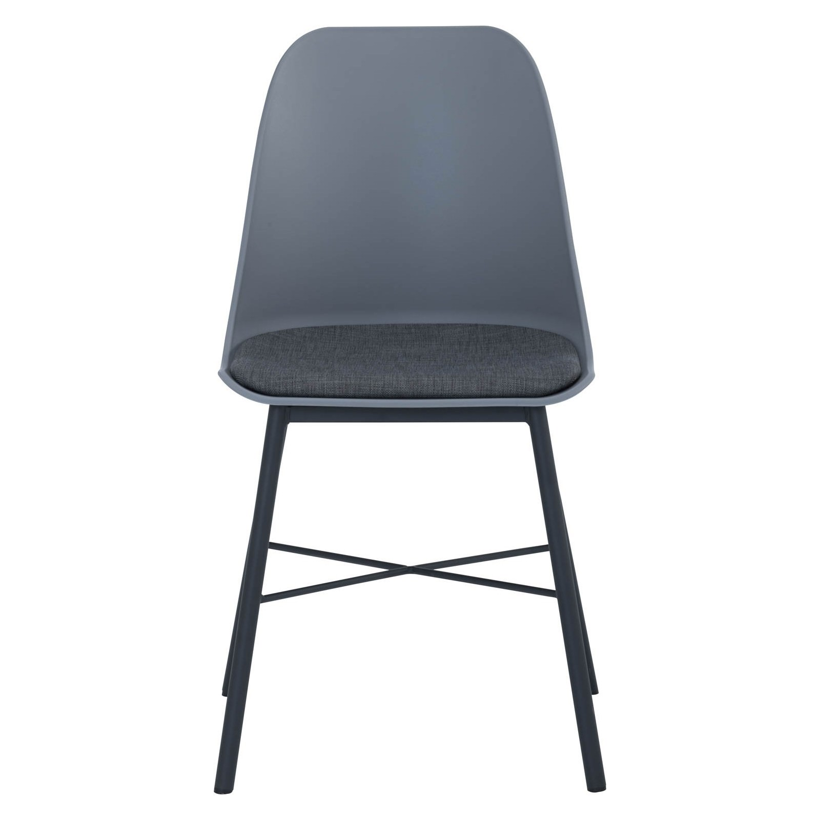 Laxmi Commercial Grade Dining Chair, Grey