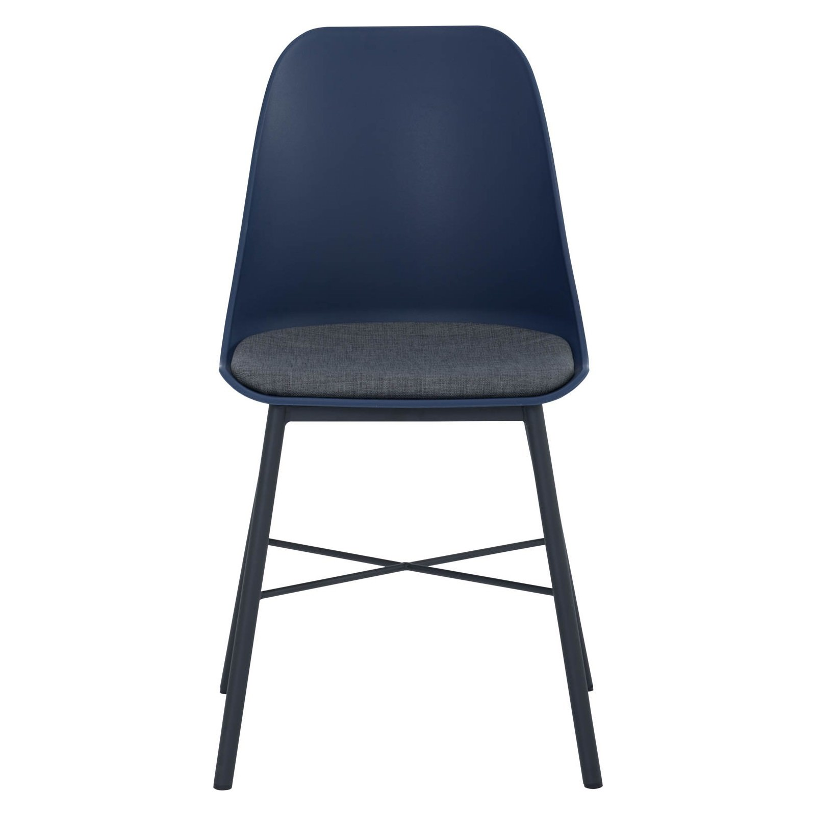 Laxmi Commercial Grade Dining Chair, Navy