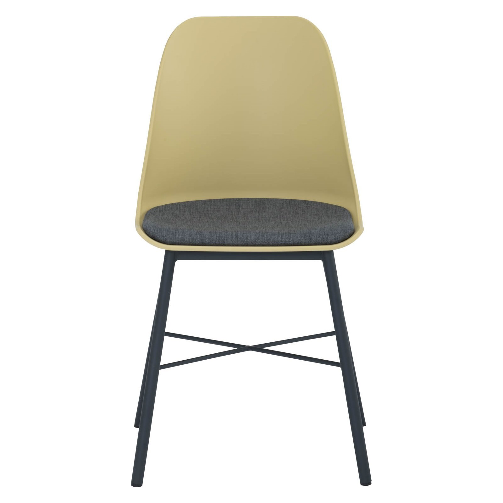 Laxmi Commercial Grade Dining Chair, Yellow