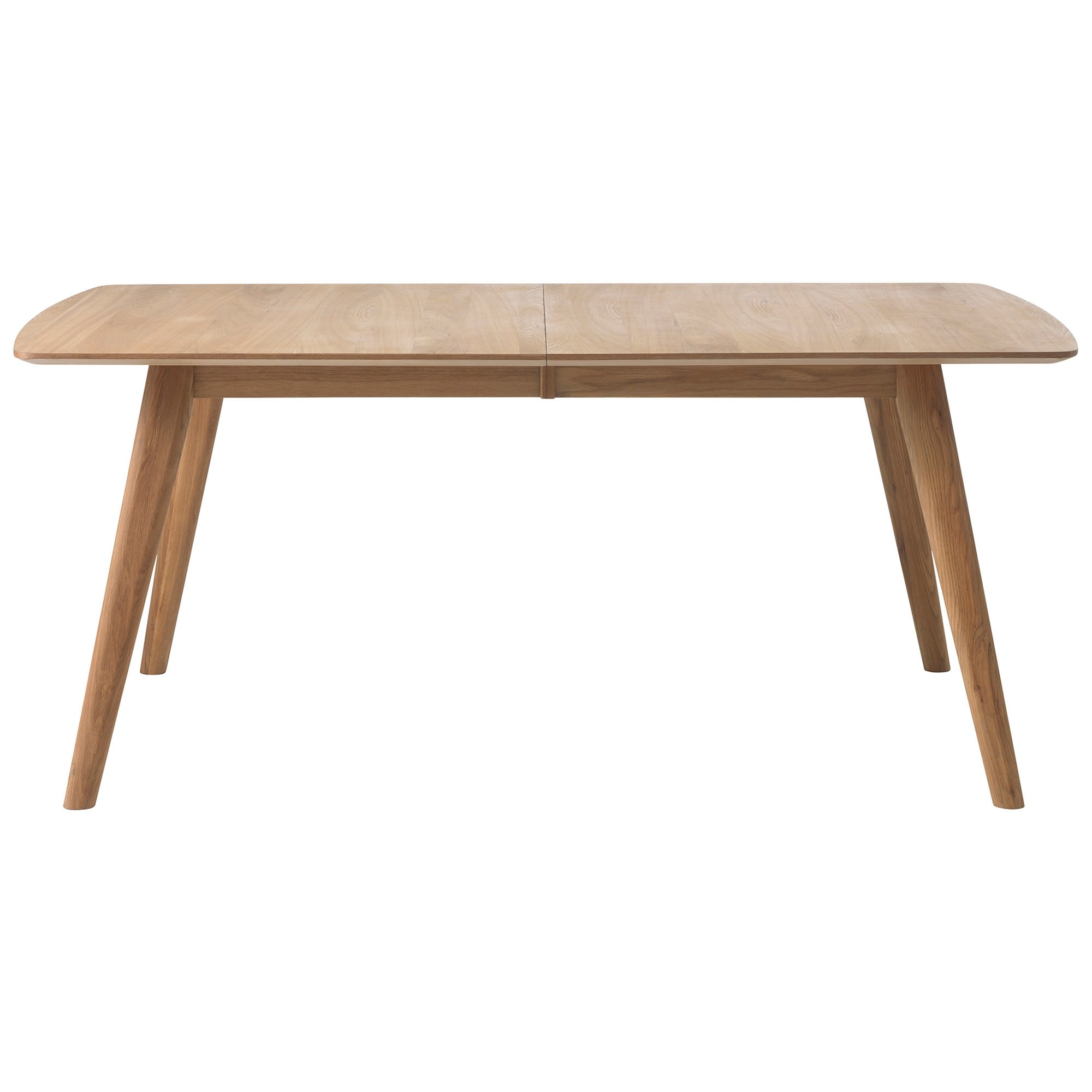 Jarel Oak Timber Extendable Dining Table, 180-270cm