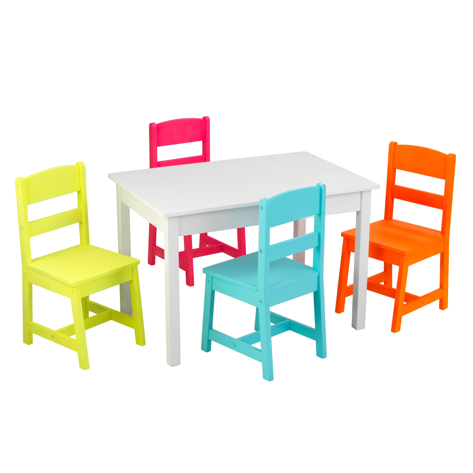 Kidkraft Kids Highlighter Table and 4 Chairs Set