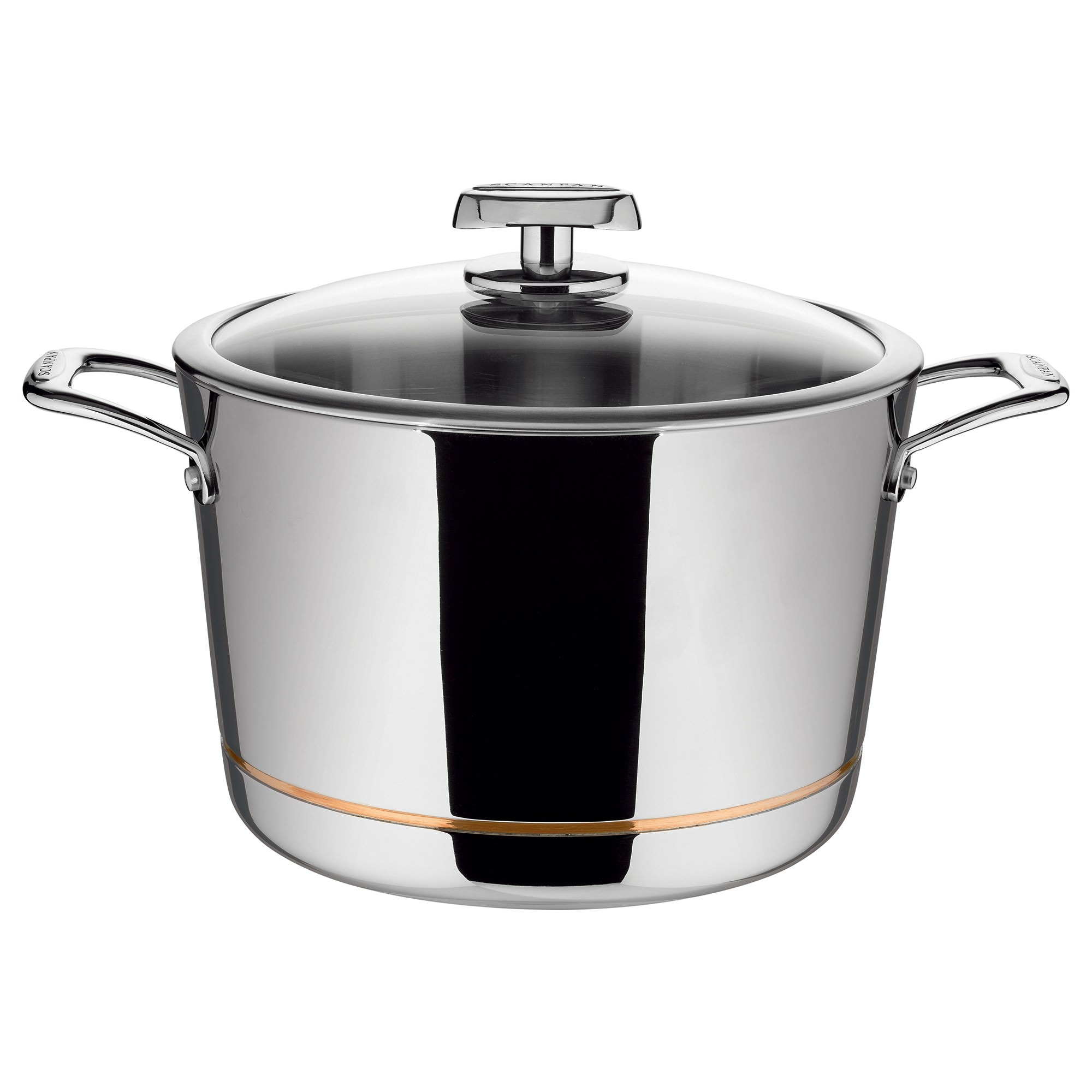 Scanpan Axis 26cm Stock Pot with Lid