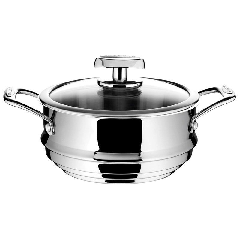 Scanpan Axis 16/18/20cm Multi Steamer with Lid