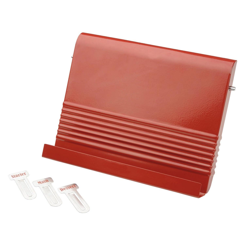 Typhoon Vintage Kitchen Recipe Book Holder - Red