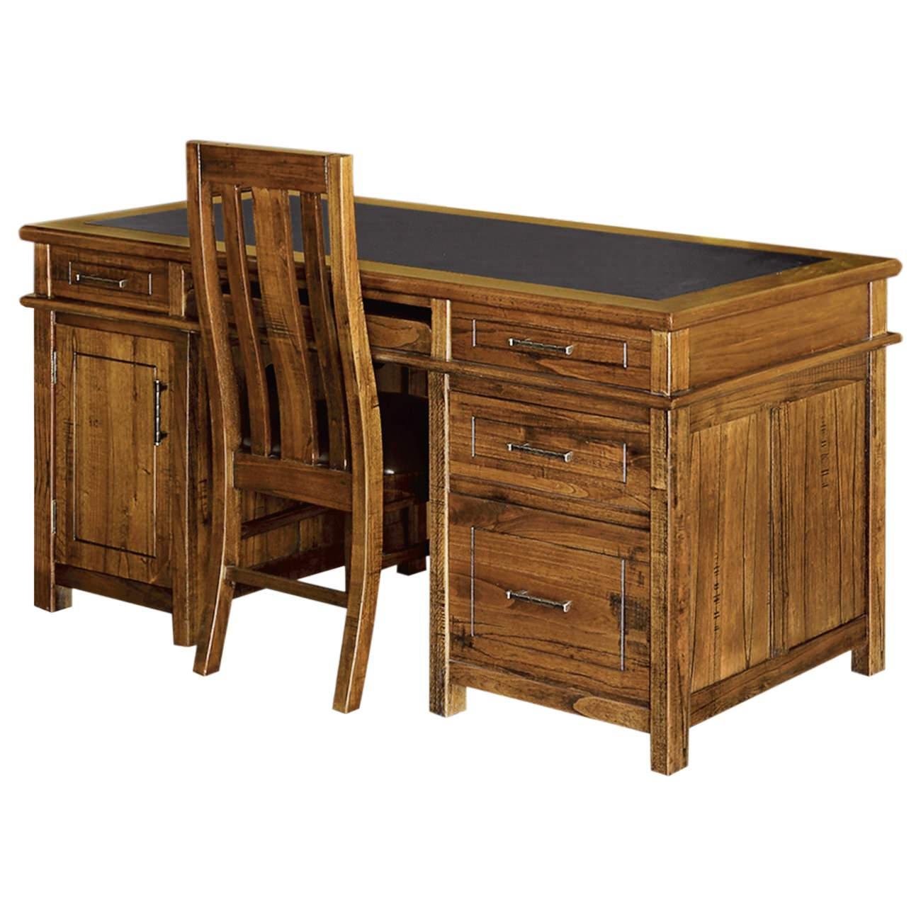 Montana Hardwood Timber Desk