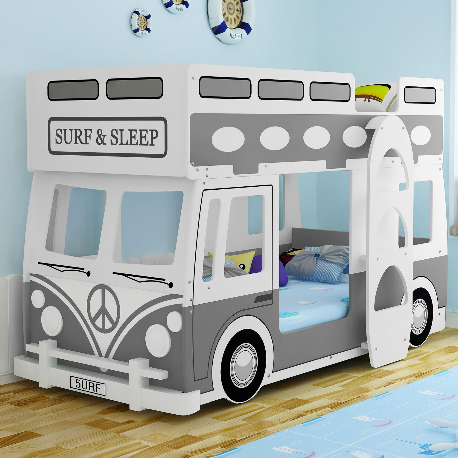 Surf & Sleep Bunk Bed, Single