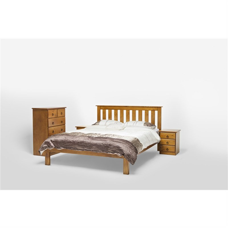 Vegas King Single Bed with Slats