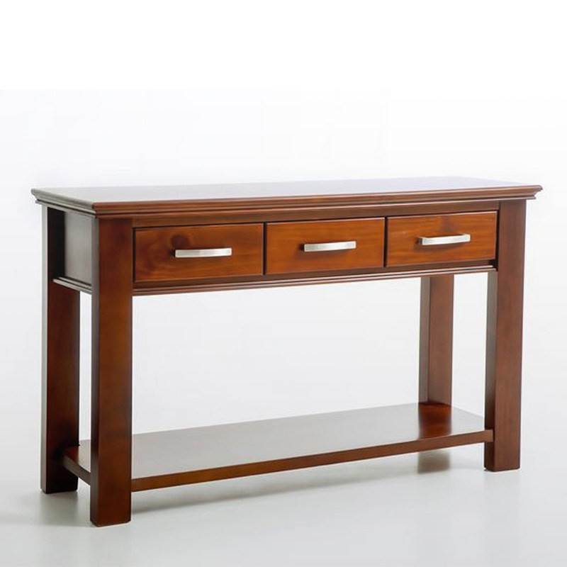 Sterling Solid Pine Timber Hall Table - 134cm