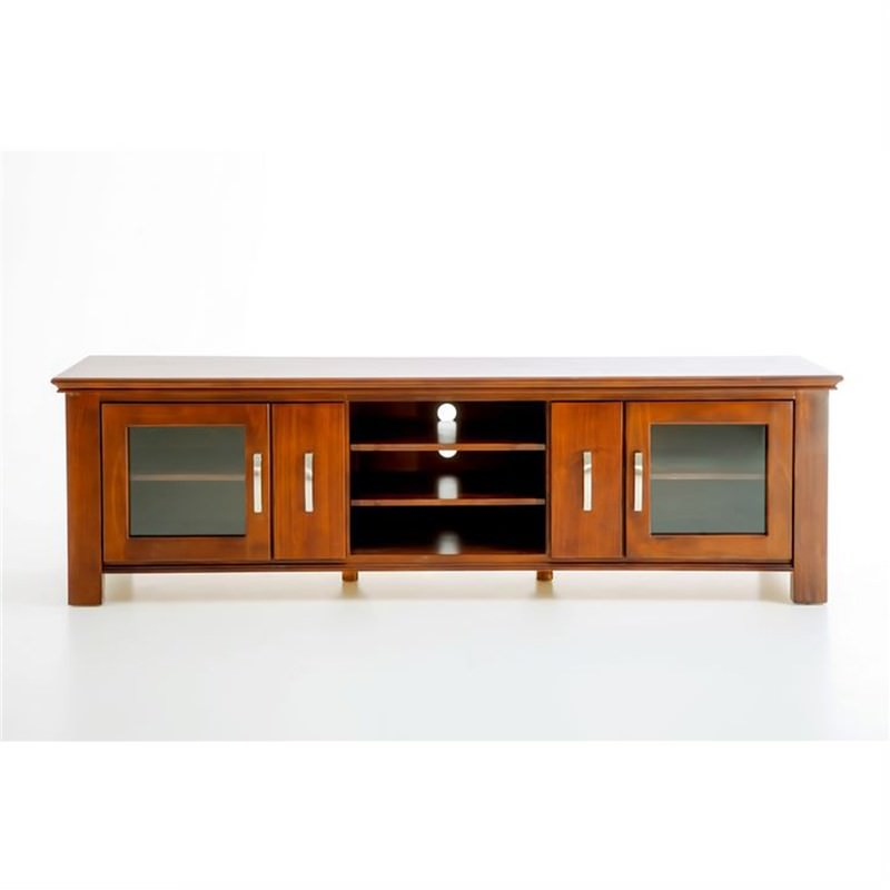 Sterling Solid Pine Timber TV Unit - 205cm