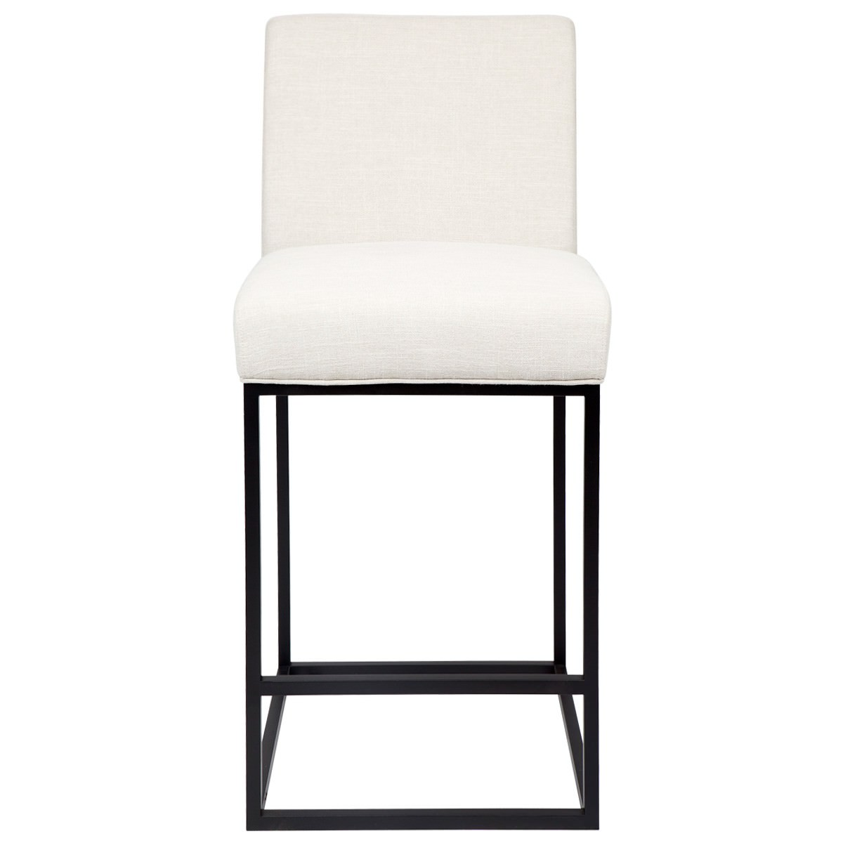 Cannes Fabric Counter Stool, Oatmeal