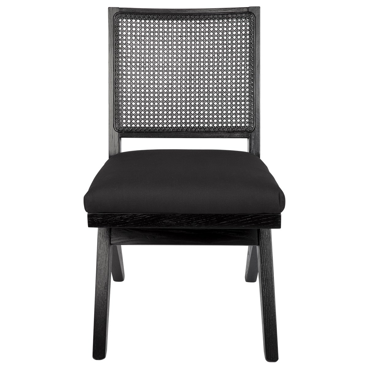 The Imperial Oak Timber Dining Chair, Black