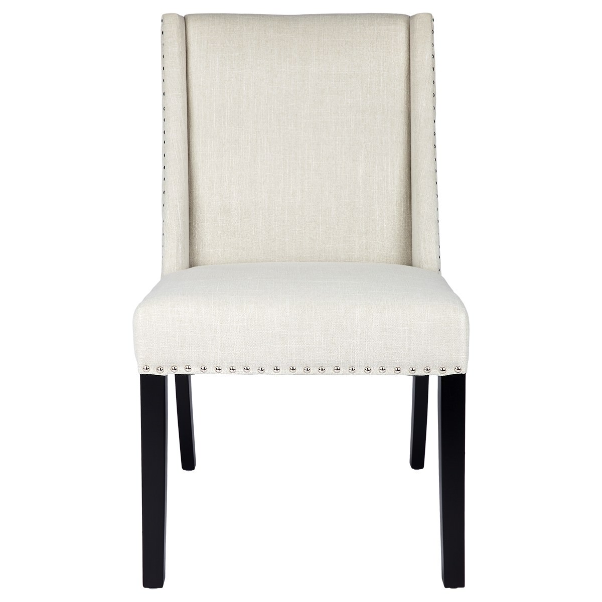 Braydon Fabric Dining Chair, Ivory