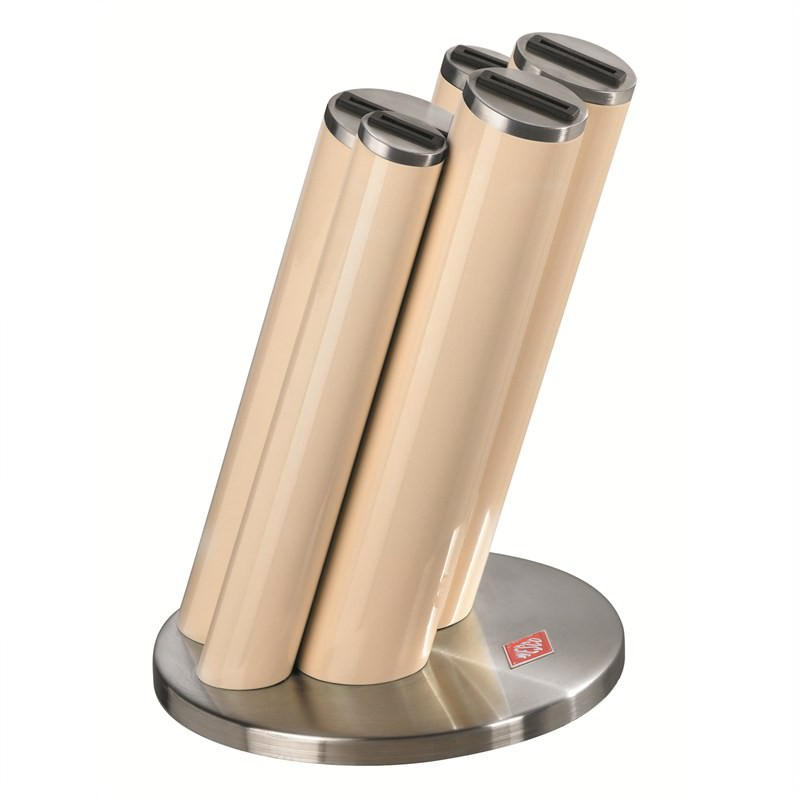 Wesco Stainless Steel Knife Pipe Set, Almond