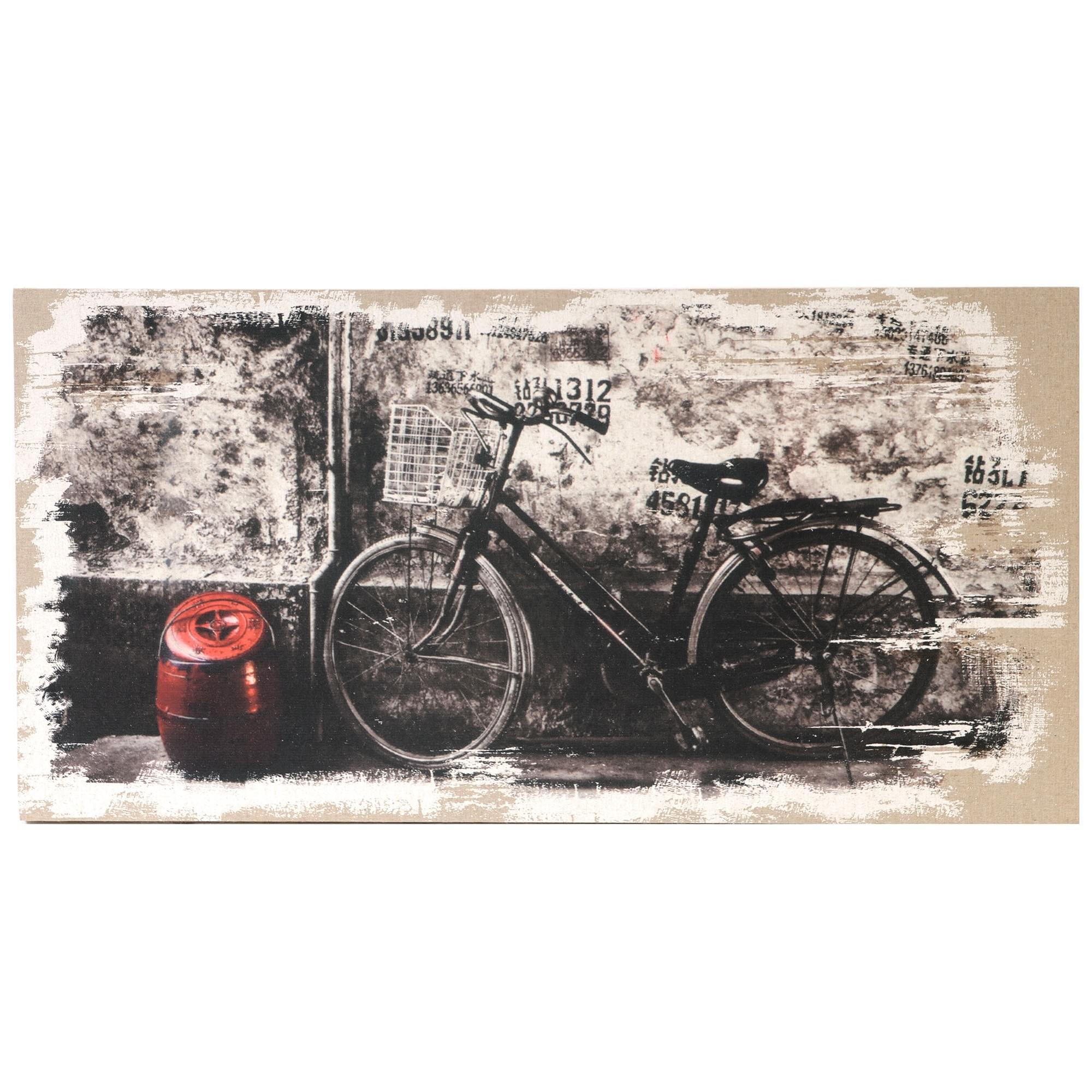 Large Designer Bicycle Wall Art